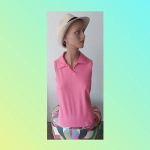 Saks Fifth Avenue Polo shirt sleeveless EUC